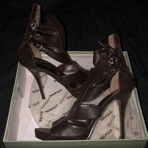 Dark Brown Sexy Heels By Bumper